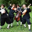 Role muzikantů ve filmu The Musketeers (BBC)
