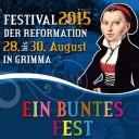 Festival der Reformation, Grimma, Německo (Bakchus)