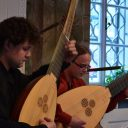 Advent concert, Libeňský zámek in Prague (Lute duo Infinitas)