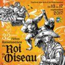 Fêtes renaissance du Roi de ľOiseau, Le Puy-en-Velay, Francie (Bakchus)