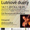 Lutnové duety – Od renesancie po barok, Kežmarok, SK