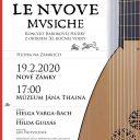 Koncert barokovej hudby z obdobia 30. ročnej vojny, Nové Zámky, SK (Le Nuove Musiche)